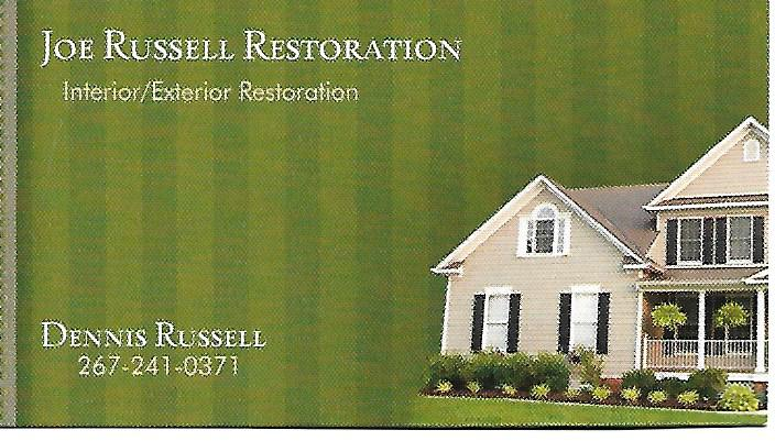 Joe Russell Restoration